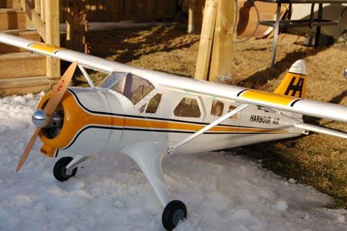 Beaver Dhc 2 De Havilland White Blue 300cm 14kg 100cc