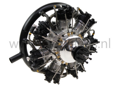 UMS radial gas engine