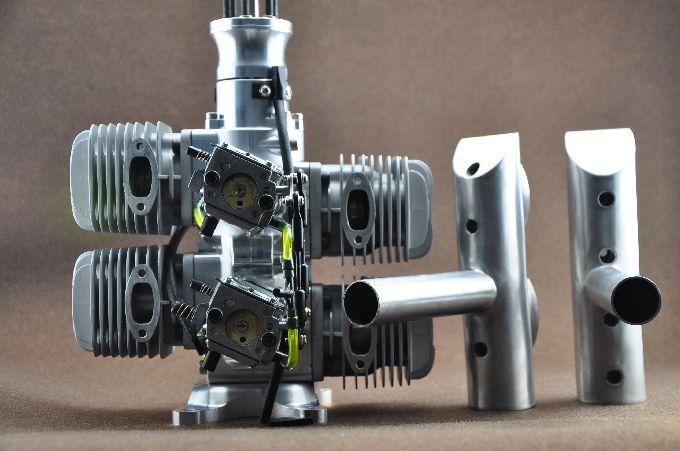 Dla Engine Dla128 Quad 128cc Rc Model Gas Engine 13hp