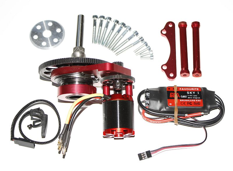 Gas To Electric Rc Car Conversion Kit