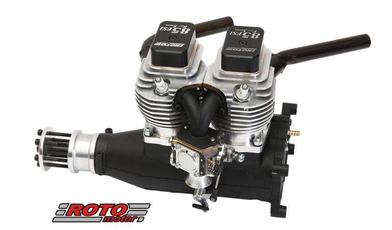 L Roto Fsi Two Cylinder Four Stroke Gas Rc Airplane Engine on 4 Cycle Rc Engines