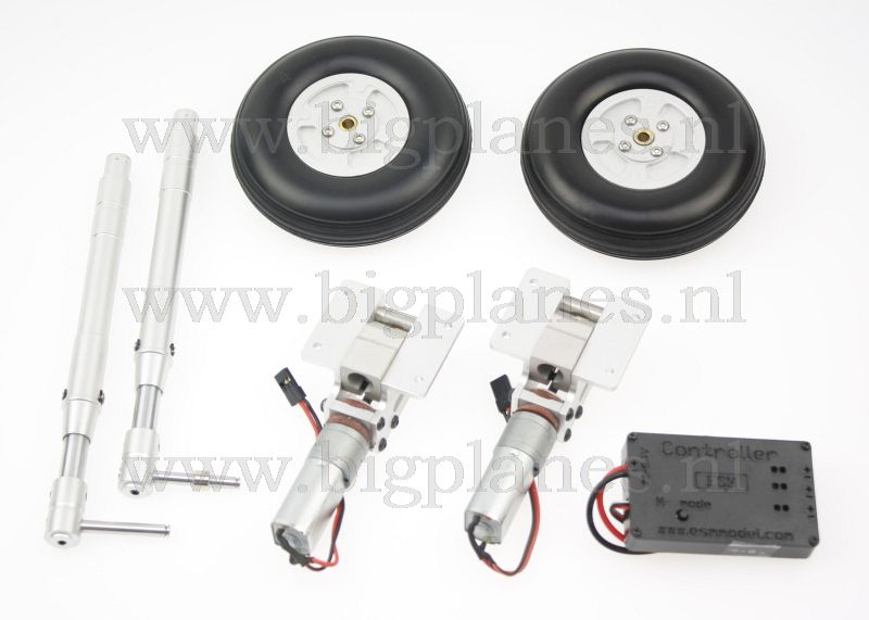 Spitfire top rc model electric retract system for Rc electric motor oil