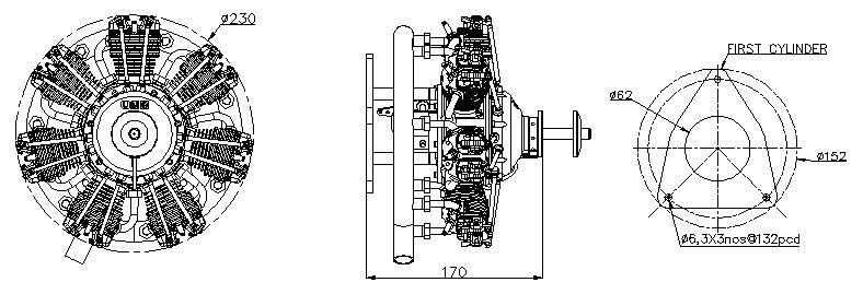 4 stroke engines electric engine diagram ums 7 90cc radial