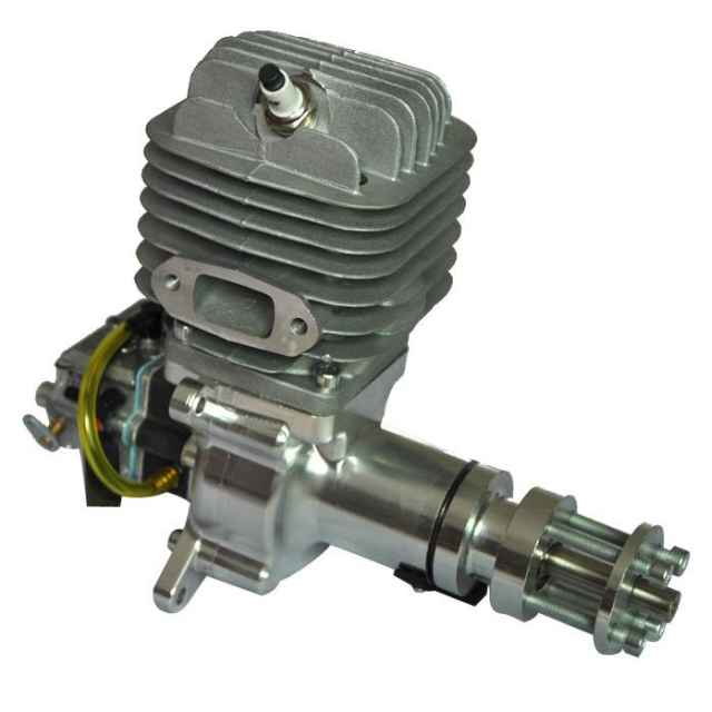 Rcgf M on 4 Cylinder Engine Exploded View