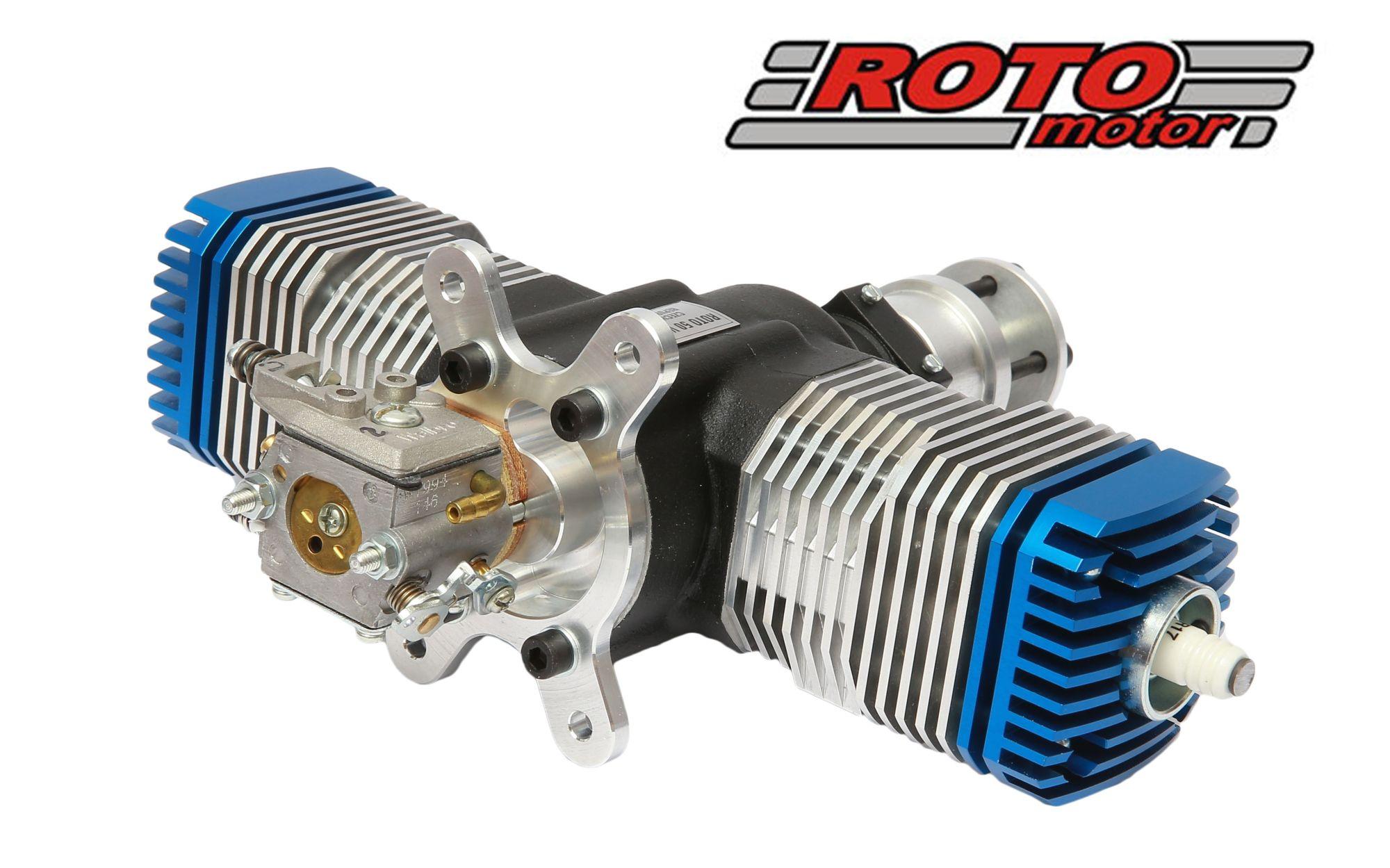 ROTO 50V2 50cc rc model gas engine (2000gr)