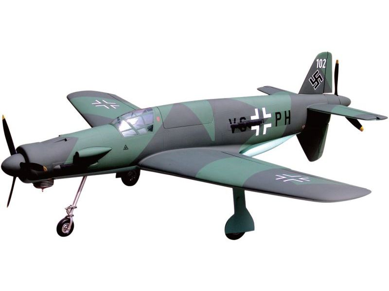 ESM DO-335 Dornier with Spinners and Retract set (212cm, 11kg, 50cc)